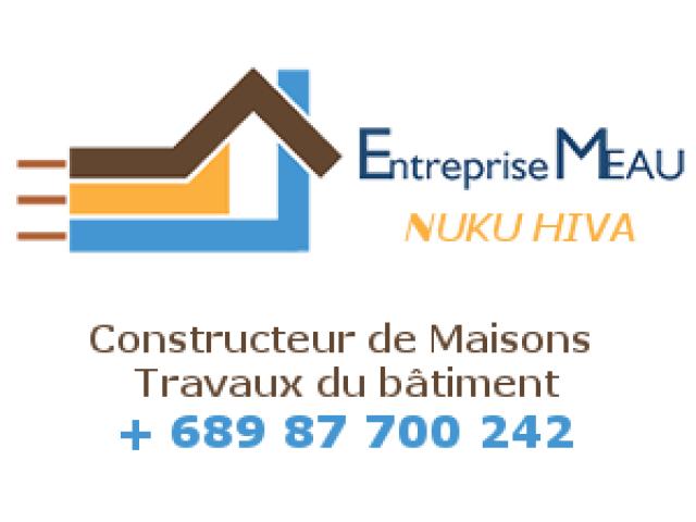 Construction maison, travaux du bâtiment : Entreprise MEAU